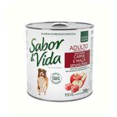 Alimento-Umido-Sabor-e-Vida-Caes-Adultos-Carne-e-Maca-290g
